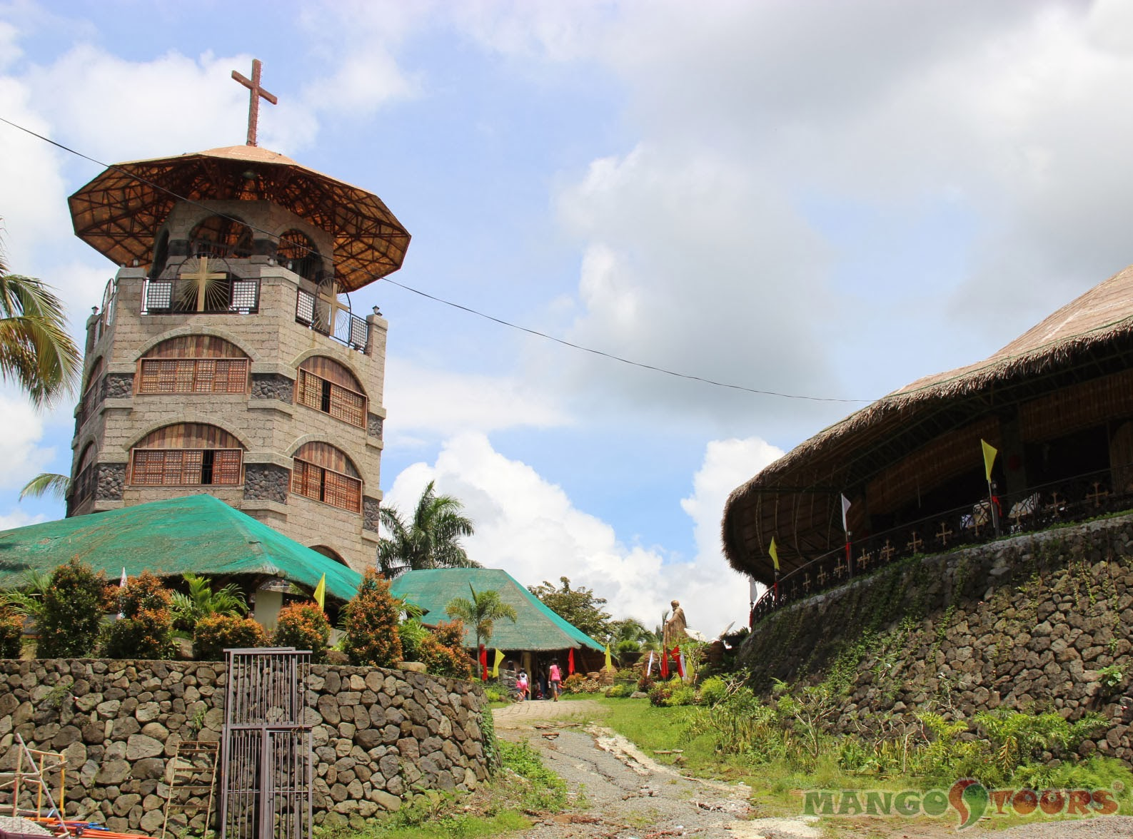 Mango Tours Microtel by Wyndham Sto. Tomas Batangas attraction Sto. Padre Pio Shrine