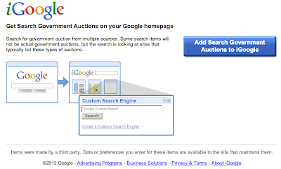 Add to iGoogle Button