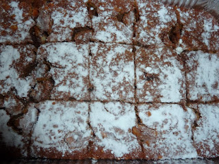 Brownie de Abóbora e Pepitas de Chocolate