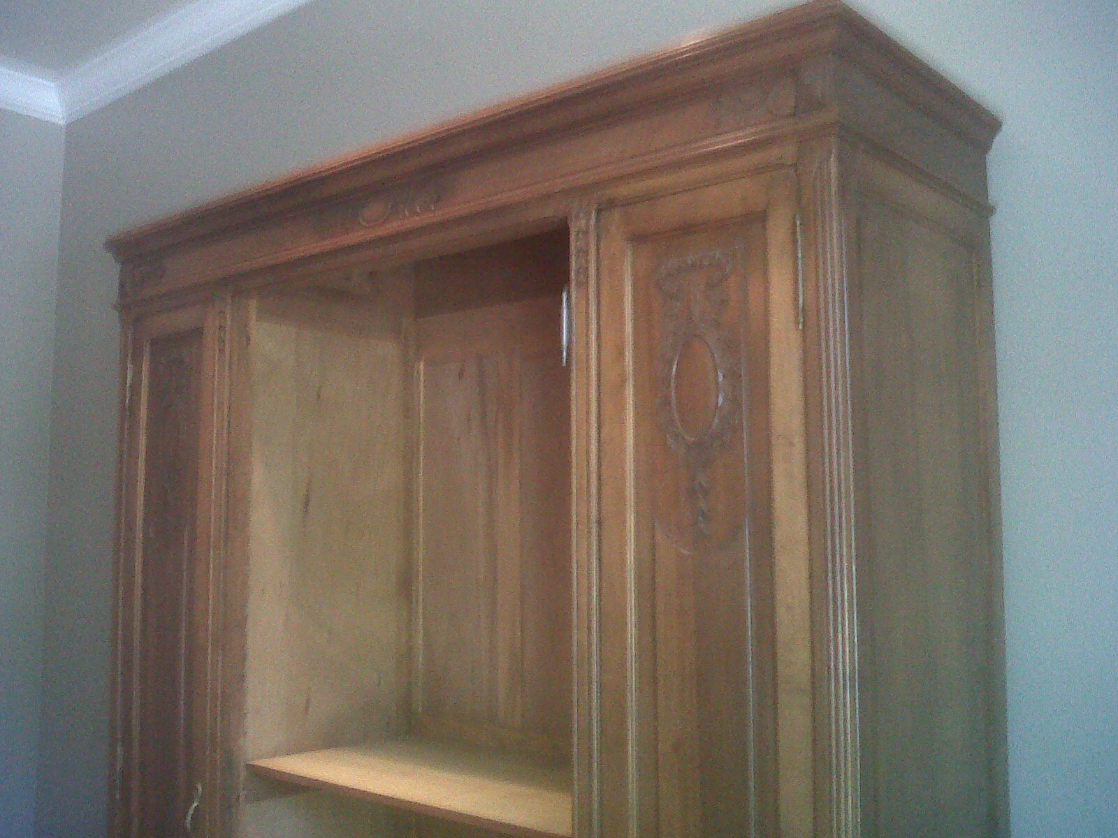 my faux french chateau french armoire and chalk paints. Black Bedroom Furniture Sets. Home Design Ideas