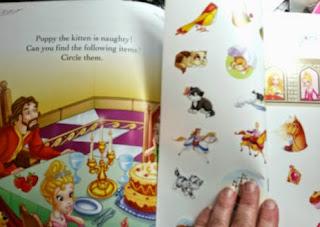 princess Joy sample page
