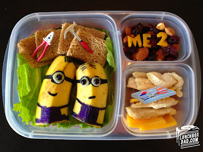 Despicable Me 2 minion kids lunch
