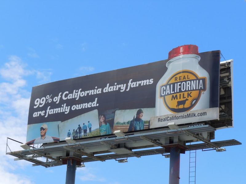 California milk billboard