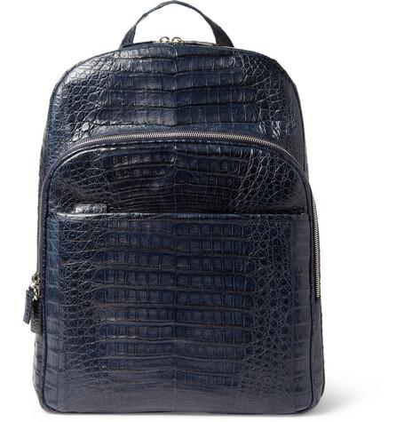 Santiago Gonzalez Crocodile Sac Backpack