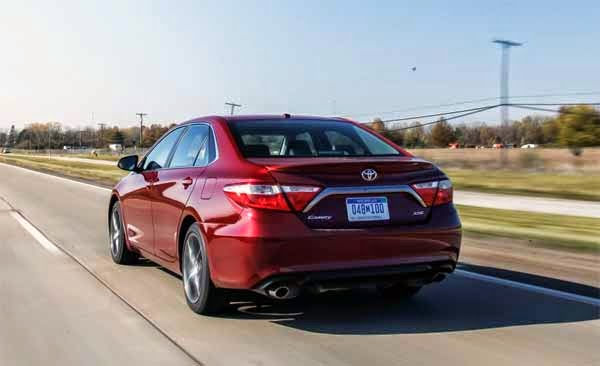 2015 Toyota Camry XSE V-6 Test Drive