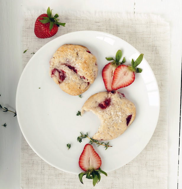 Always With Butter: Strawberry Shortcake Cookies