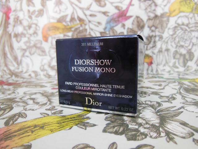 Dior Fusion Mono shadow Millenium