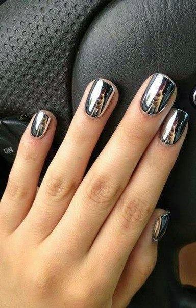 Metal Nail Art Designs #1