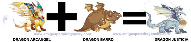 como sacar el dragon justicia en dragon city 4