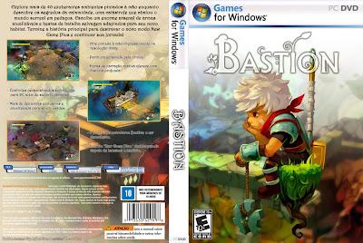 Bastion PC DVD Capa