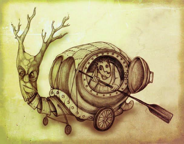 snail caravan