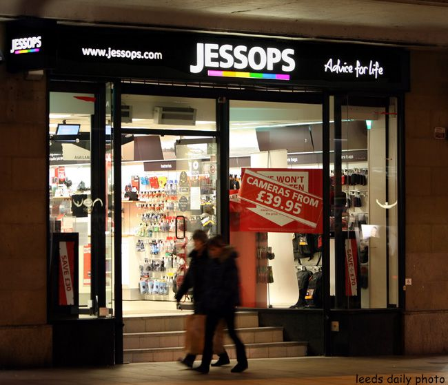 Jessops Photo Leeds Closes
