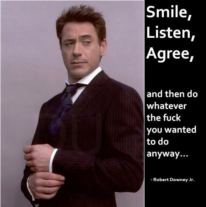 Robert Downey Jr - Wise Words Quote