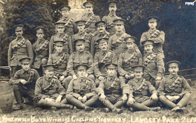 Northwich Boys, Cheshire Yeomany 1914