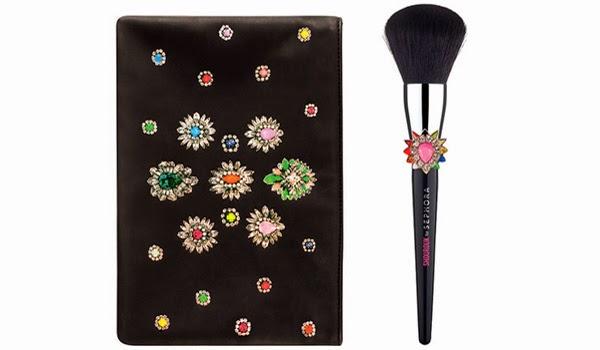 Shourouk para Sephora coleção de maquiagem kit necessaire e pincel