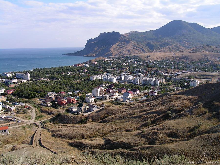 Вид на Коктебель с горы Верблюд | View of Koktebel from Camel mountain