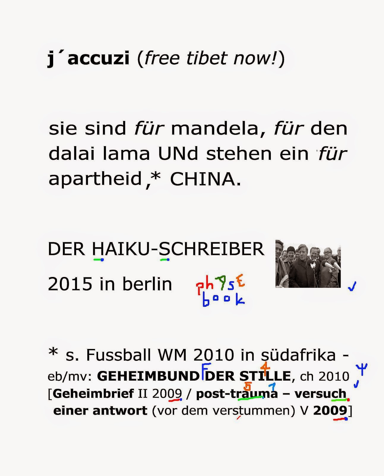 navi pillay NOBEL foundation TMR THE MENTAL REVOLUTION mischa vetere dalai lama nelson mandela FIFA
