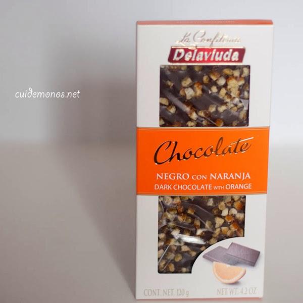 chocolate negro con naranja delaviuda