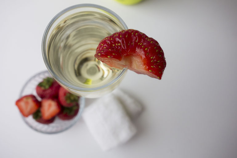 Rainy Sundays | Afternoon Tea Champagne and Strawberries