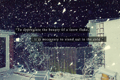 Winter Quotes On Tumblr  Quote
