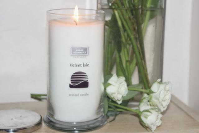 Arran Aromatics Velvet Isle Candle