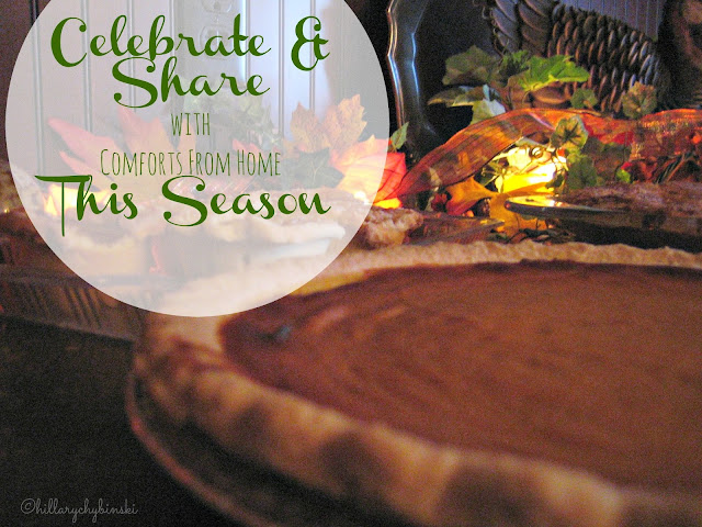Clebrate and Share With Comforts From Home This Season