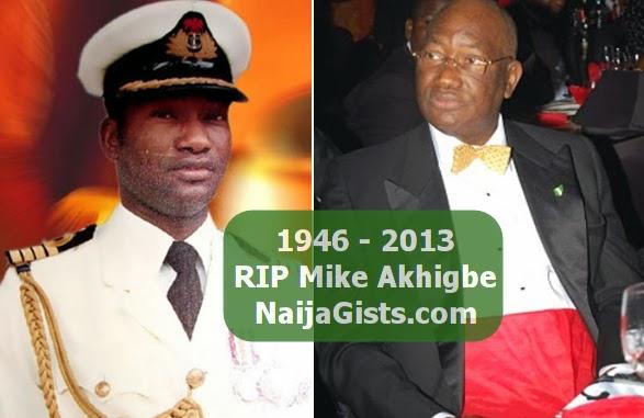 mike akhigbe burial