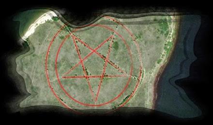 Pentagramm in Kasachstan