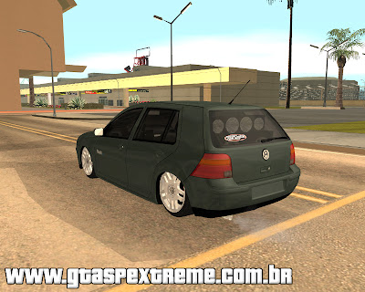 Vw Golf Flash + VR6 17 + Fiixa para grand theft auto