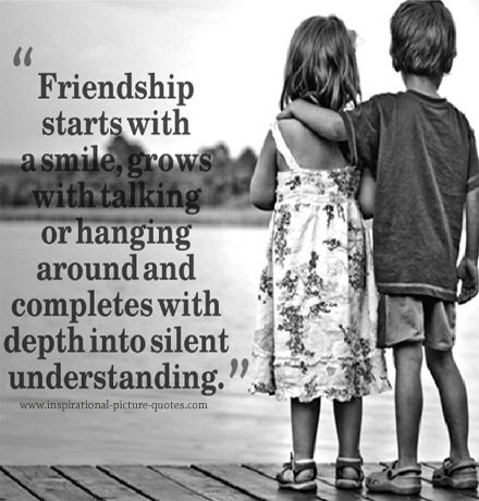 Quotes About Smile And Friendship Stunning Friendship Starts With A Smile  Inspirational Picture Quotes