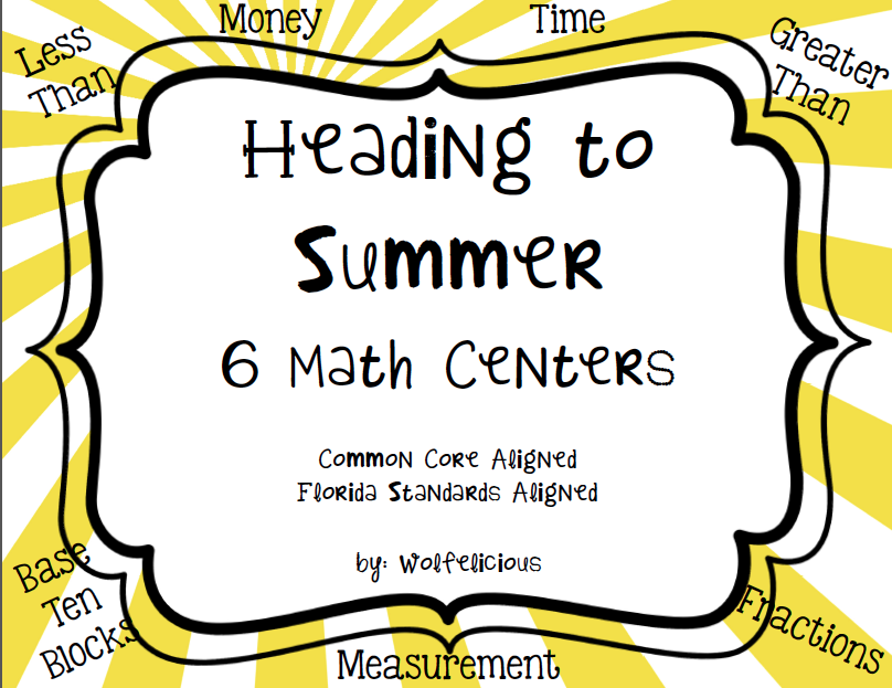 Photo of Heading to Summer Math Centers Wolfelicious
