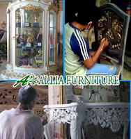 Proses Finishing Furniture Cat Duco Emas
