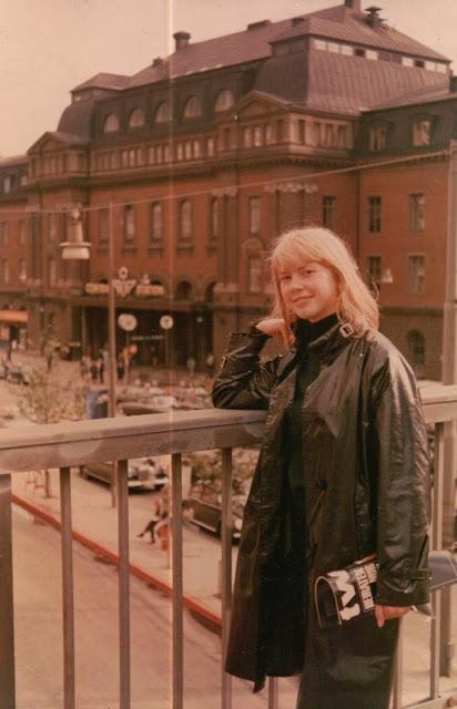 Annikki in Sweden in 1963