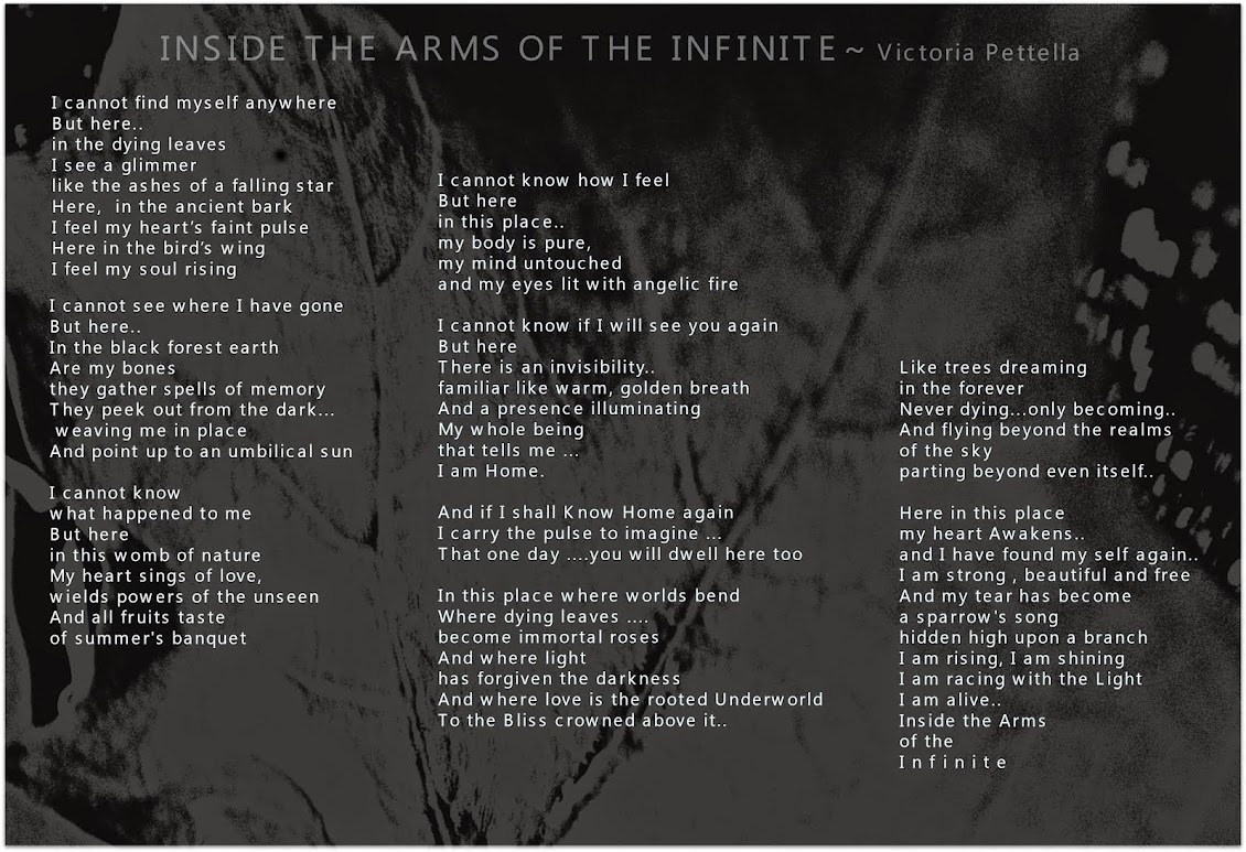 Inside the arms of the infinite