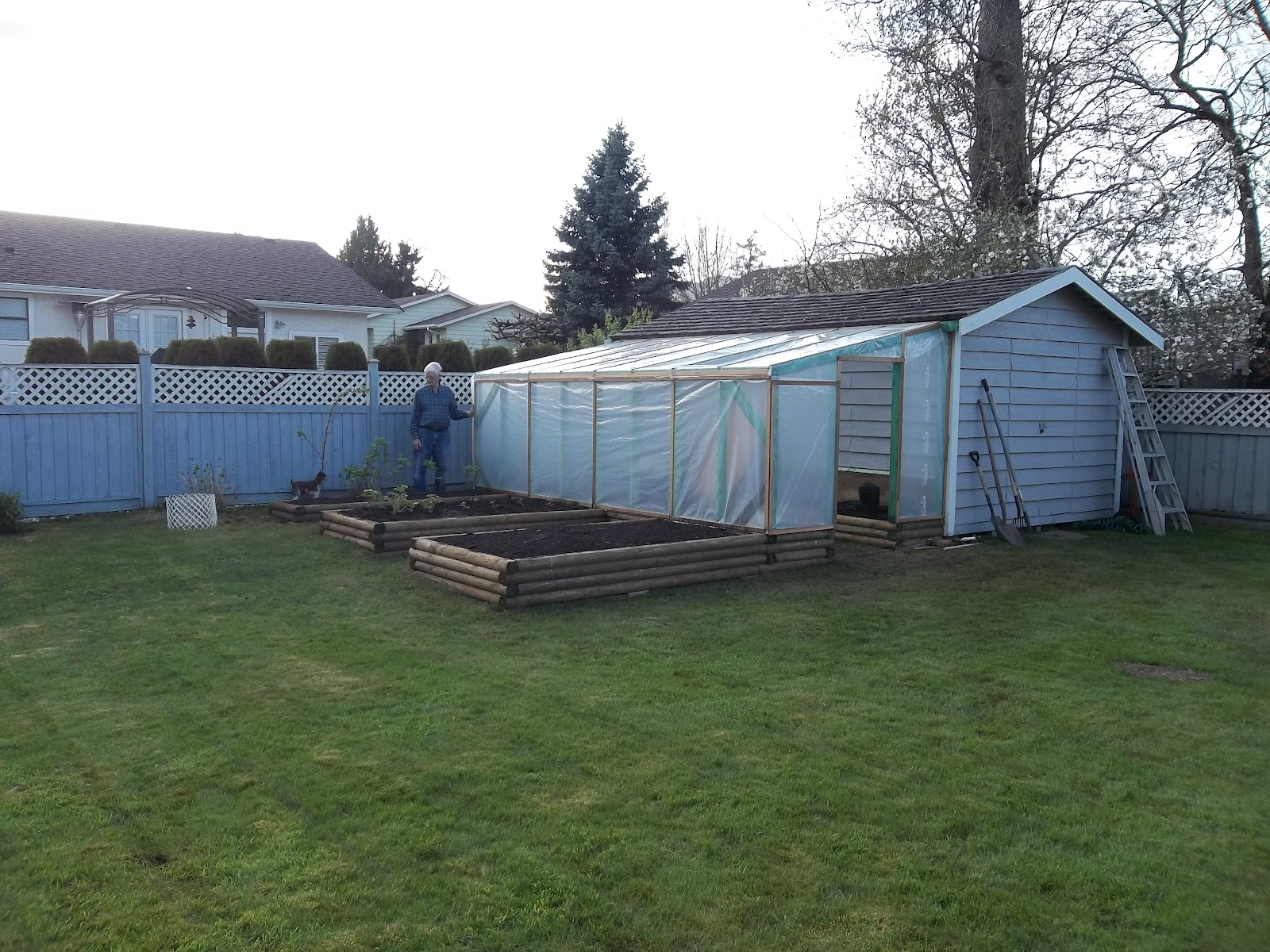 gardening with gramps building a greenhouse without going broke