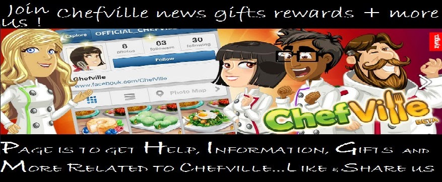 Chefville news gifts rewards and more