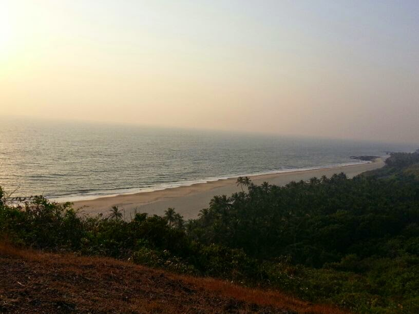 Bhogwe Beach from Nivati Fort