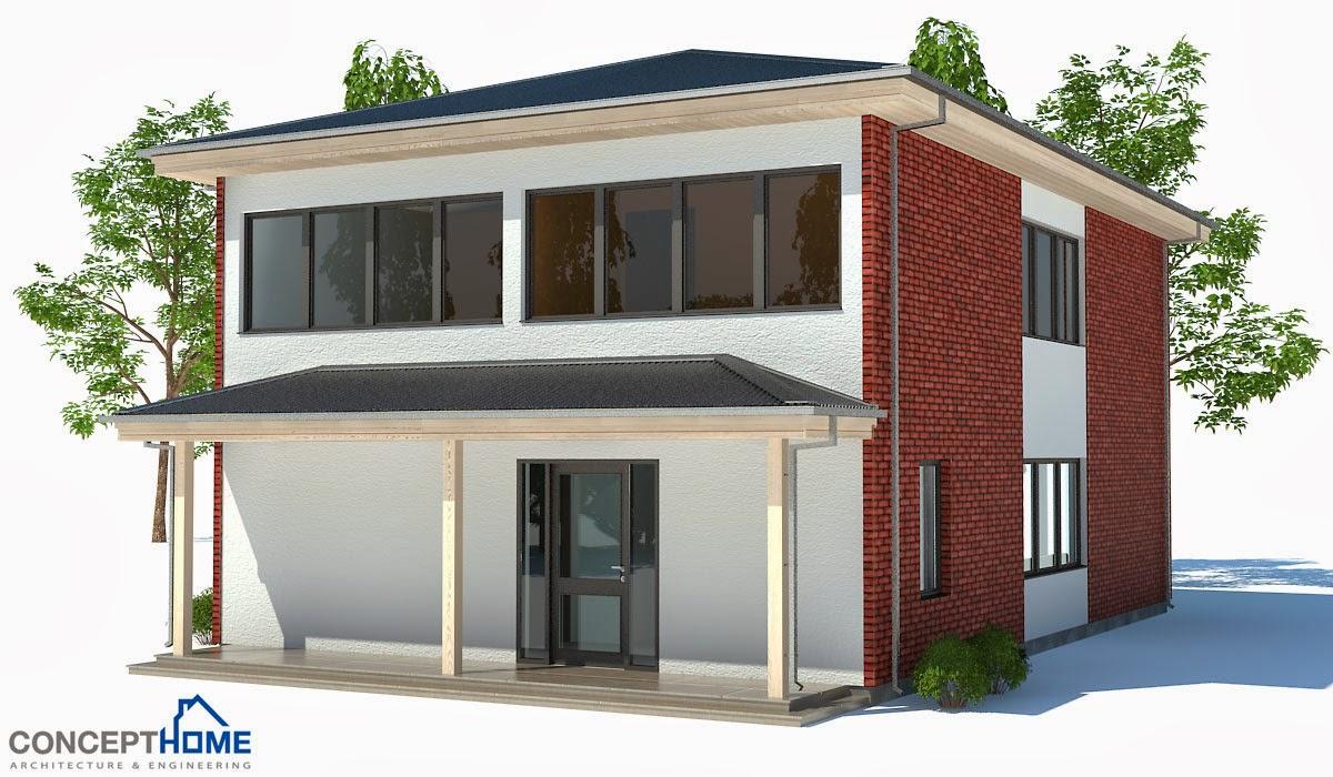 proyectos de casas modernas ch191 proyecto de casa moderna
