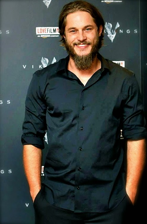 Australian Former Model Travis Fimmel with new hair style