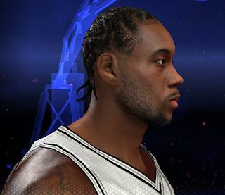 NBA 2K14 Kawhi Leonard Face Mod