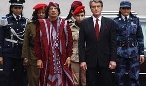 Sfetru od pokropków jest jak Kaddafi.