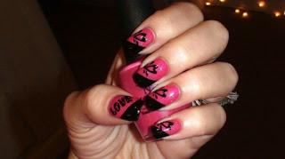 Slike noktiju - srca,love 008