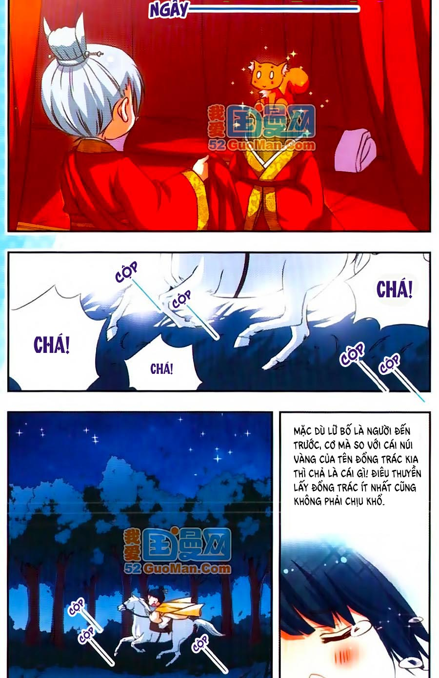 Manh Tam Quốc Chap 58.3 - Next Chap 59