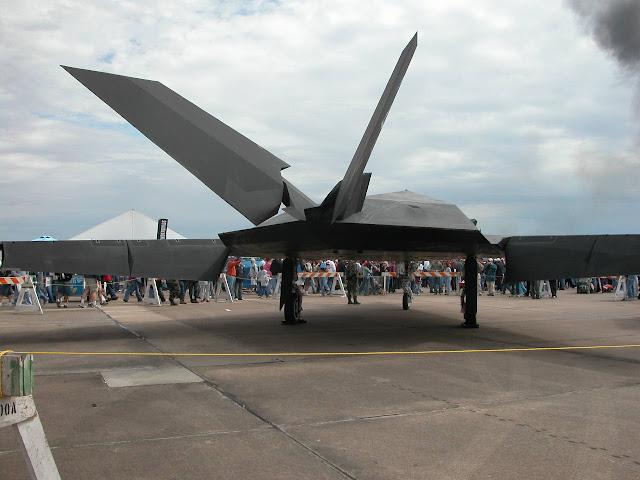 F-117 Nighthawk airshow