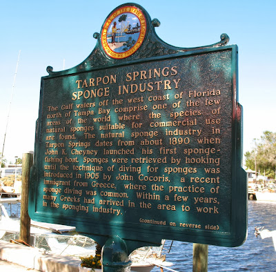 Sponge Diving Industry Marker