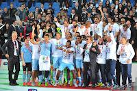 FÚTBOL-Lazio le ganó la Copa a la Roma