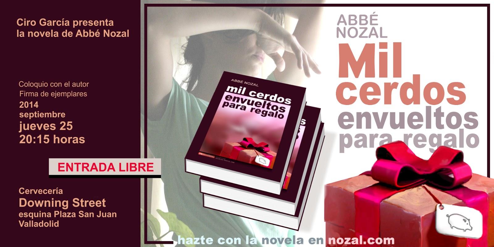 Presentación en Valladolid, 2014 Abbé Nozal