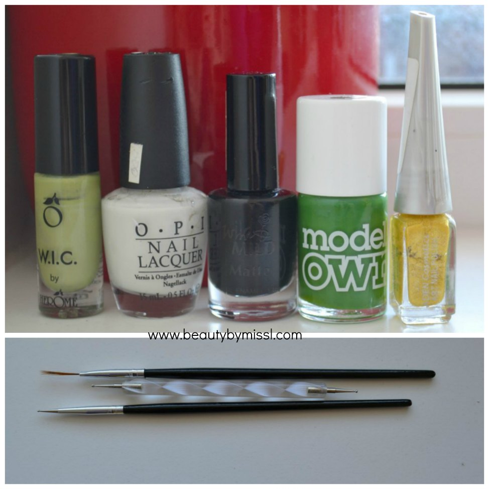 nail polishes,nail art brush, dotting tools