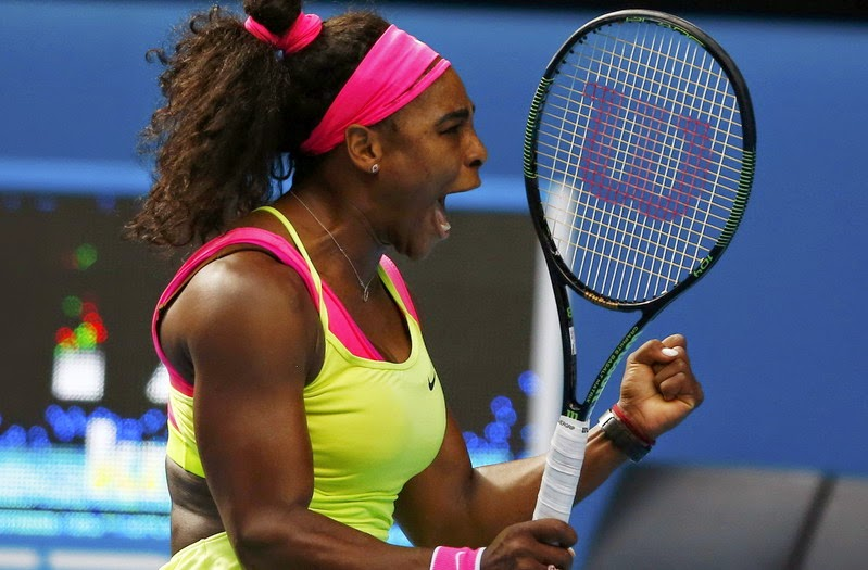 Serena tembus final Australian Open 2015 (Foto: reuters)