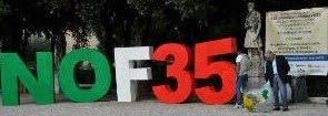 Contro l'acquisto degli F-35